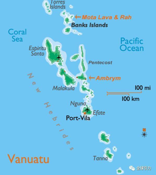 国家介绍|钟灵毓秀的瓦努阿图