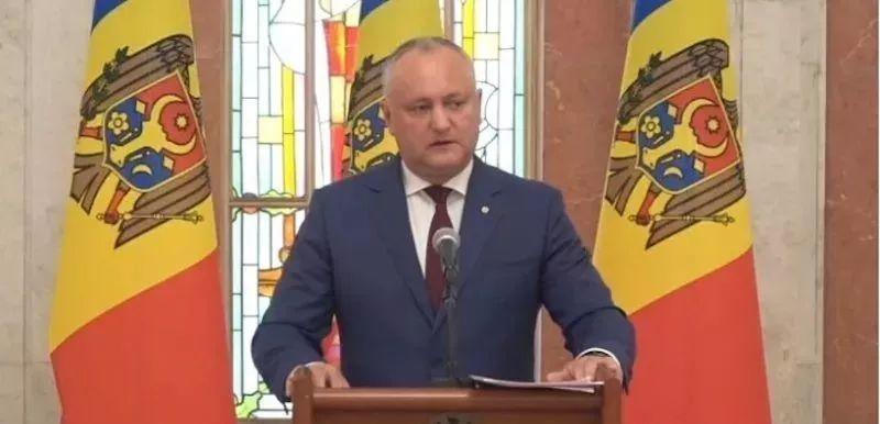【摩爾多瓦】總統DODON表示投資入籍項目暫停